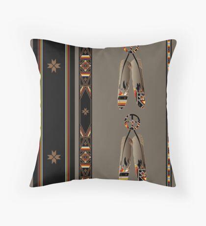 Lakota Design Throw Pillow