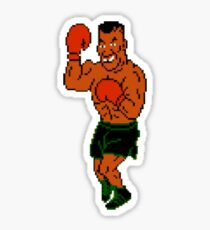 Mike Tyson - Punch-Out  Sticker