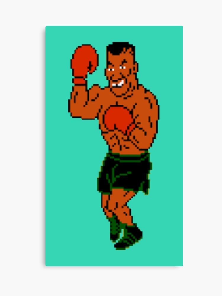 Mike Tyson Christmas Meme.Mike Tyson Punch Out Canvas Print