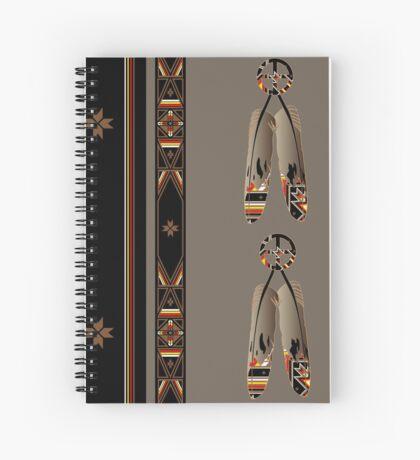 Lakota Design Spiral Notebook