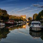 Canal de Garonne France by Lynn Bolt