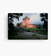Ross castle evening view Canvas Print