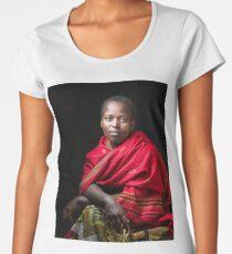 Young Woman Women's Premium T-Shirt