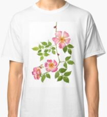Dog rose love Classic T-Shirt