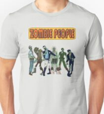 Village Zombies - Spoof Horror 1970s Camp Music Band T-Shirt