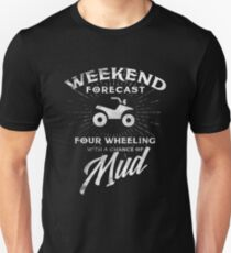Four Wheeling Quads Design T-Shirt