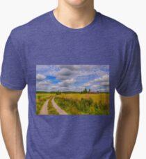 August countryside 7 Tri-blend T-Shirt