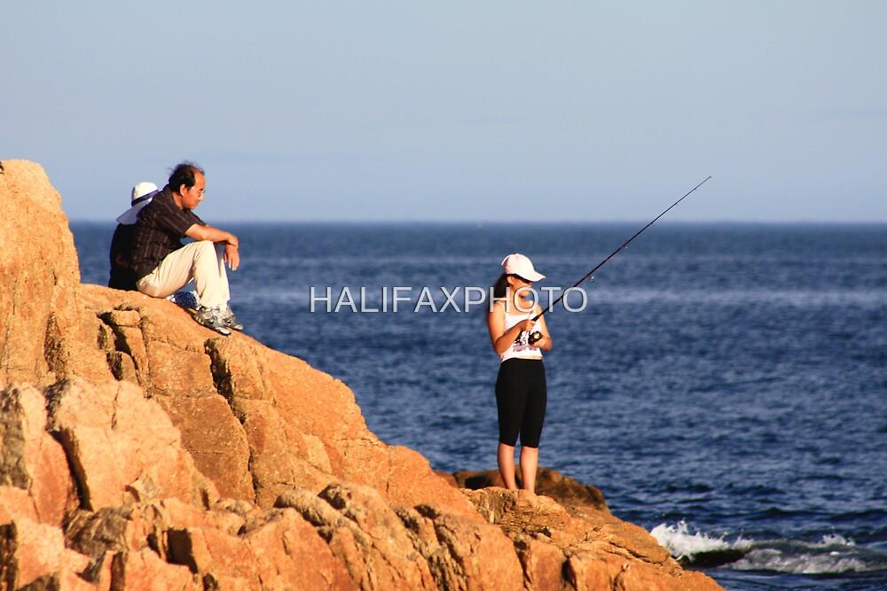 Fishing For Mackerel by HALIFAXPHOTO