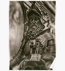 Peles Castle Statue - Veleda Thorsson Photography  Poster