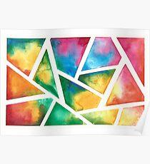 Watercolors! (horizontal) Poster