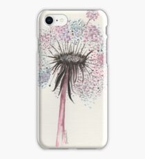 Watercolour dandelion iPhone Case/Skin