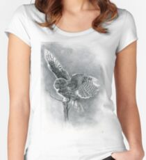 Great Grey Women's Fitted Scoop T-Shirt
