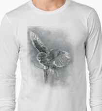 Great Grey Long Sleeve T-Shirt