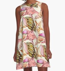 Summerly Tropical Pattern 9 A-Line Dress