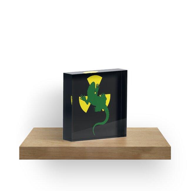 Radioactive Gecko by Denis Marsili