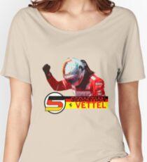 Sebastian Vettel #2017 Women's Relaxed Fit T-Shirt