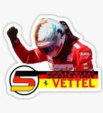 Sebastian Vettel #2017 Sticker