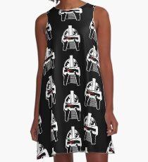 Cylon - Battlestar Galactica A-Line Dress
