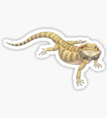 Standard Leatherback Bearded Dragon Sticker