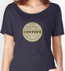 Dotards Nambian Covfefe Women's Relaxed Fit T-Shirt