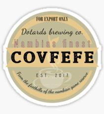 Dotards Nambian Covfefe Sticker