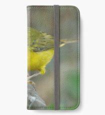 wilsons warbler iPhone Wallet