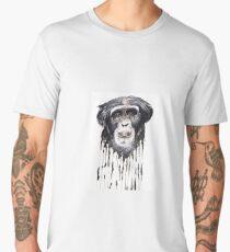 Watercolour Chimpanzee  Men's Premium T-Shirt