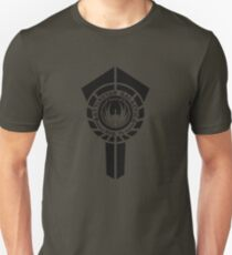 battlestar galactica logo - So Say We All T-Shirt