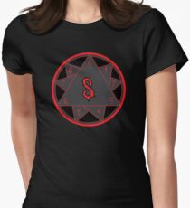 9 pointed star Women's Fitted T-Shirt