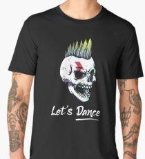 Skull Punk Ziggy Style Men's Premium T-Shirt