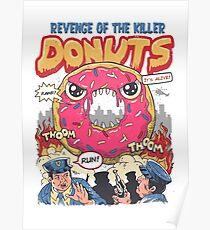Revenge of the Killer Donuts Poster
