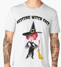 Resting Witch Face Men's Premium T-Shirt