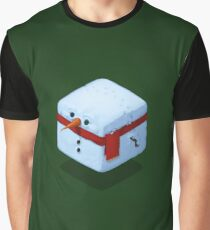 Qoob - Snowman Graphic T-Shirt