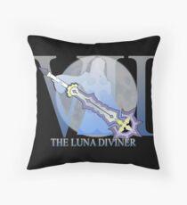 THE LUNA DIVINER Throw Pillow