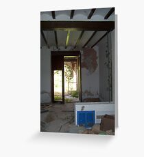 """"""" Decay."""" Greeting Card"""