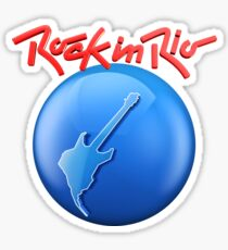 Festival Rock in Rio Brazil Sticker