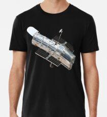 Astronomie, Hubble, Weltraum, Teleskop, im Orbit, Kosmos, kosmisch, Universum Männer Premium T-Shirts