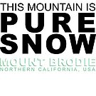 Pure Snow by MountBrodie