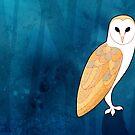 Barn Owl (Tyto alba) by Joumana Medlej
