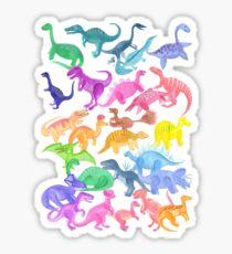 Roarsome Rainbow Dinosaur Alphabet Sticker