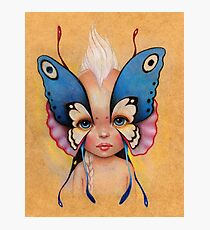 Butterfly Child Photographic Print
