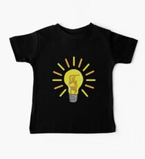 Lit AF light bulb Kids Clothes