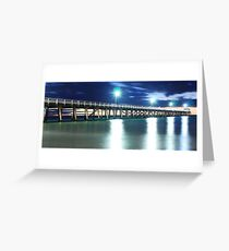 Grange Jetty: South Australia in the summertime Greeting Card