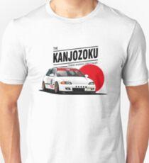 Camiseta ajustada Honda Civic EG KANJO