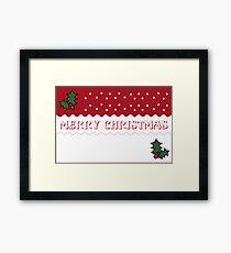 Merry Christmas 3 Framed Print
