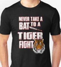 Beautiful Tiger Shirt Never Take a Bat To A Tiger Fight Unisex T-Shirt