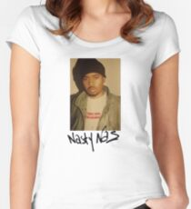Nasty Nas Supreme Tee Women's Fitted Scoop T-Shirt