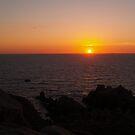 Rocky Sunset by Jonathan Dower