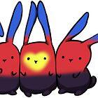 Poly-Pride Bunnies von RobynVanHaase