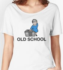The Rabid Monk-Old School Women's Relaxed Fit T-Shirt
